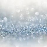 Fond miroitant argenté Photos libres de droits