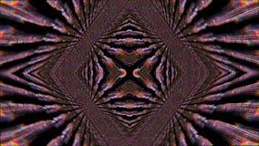 Fond miroitant rêveur de la science fiction géométrique de kaléidoscope illustration stock