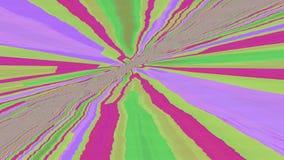 Fond miroitant rêveur futuriste de cru multicolore illustration de vecteur