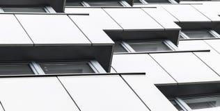 Fond moderne abstrait d'architecture Image libre de droits