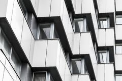Fond moderne abstrait d'architecture Photographie stock