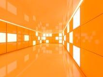 Fond moderne abstrait d'architecture rendu 3d Images libres de droits