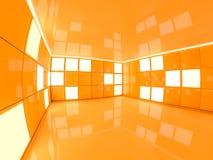 Fond moderne abstrait d'architecture rendu 3d Images stock