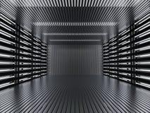 Fond moderne abstrait d'architecture rendu 3d Photos stock