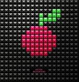 Fond moderne abstrait de pixel Image libre de droits