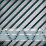 Fond moderne abstrait en verre en métal Photographie stock