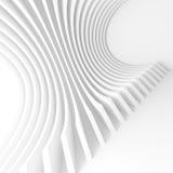 Fond moderne d'architecture Construction de bâtiments circulaire Photos stock