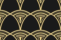Fond moderne d'Art Deco illustration libre de droits