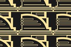 Fond moderne d'Art Deco illustration de vecteur