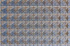Fond moderne de dessin géométrique de toit de bâtiment Photographie stock