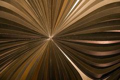 Fond moderne de la structure 3d en métal Photo libre de droits