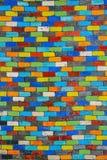 Fond moderne de modèle en céramique de multicolore Photo libre de droits