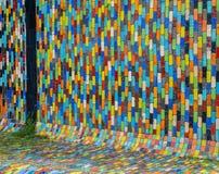 Fond moderne de modèle en céramique de multicolore Photos stock