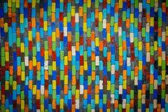 Fond moderne de modèle en céramique de multicolore Photo stock