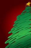 Fond moderne de Noël Photo libre de droits