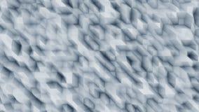 Fond moderne polygonal abstrait bleu pour des présentations et des rapports Lignes diagonales rendu 3d Images stock