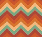 Fond moderne sans couture de modèle de zigzag de chevron Image stock