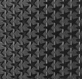 Fond monochrome géométrique avec des étoiles Photographie stock libre de droits
