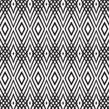 Fond monochrome sans couture avec l'entrelacement Photos stock