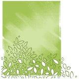 Fond moteur floral, type painterly artistique Illustration Stock
