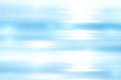 Fond mou bleu lumineux abstrait Photographie stock
