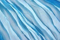 Fond mou et onduleux abstrait de texture de mousseline de soie Photographie stock