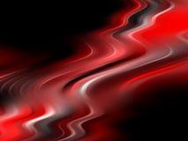 Fond mou rouge abstrait d'écoulement Photographie stock libre de droits