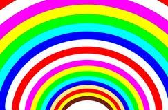 Fond multi d'en demi-cercle de couleur Images stock