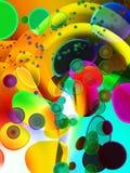 Fond multicolore Image stock