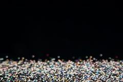 Fond multicolore coloré brillant avec l'espace noir de copie Photo stock