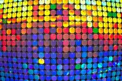 Fond multicolore convexe Les cercles color?s photos libres de droits