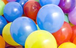 Fond multicolore de ballons Photo libre de droits