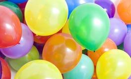 Fond multicolore de ballons Images libres de droits