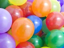 Fond multicolore de ballons Photos stock
