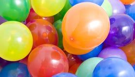 Fond multicolore de ballons Photos libres de droits