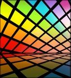 Fond multicolore de disco illustration libre de droits