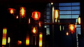 Fond multicolore de nuit Photo libre de droits