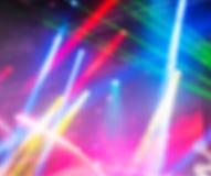Fond multicolore dramatique de vecteur de lumières Photo libre de droits