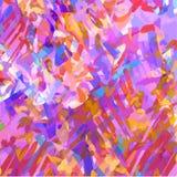 Fond multicolore lumineux des courses, griffonnages, marqueur illustration stock