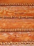 Fond - mur de fantaisie de maison de logarithme naturel Image stock