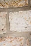 Fond, mur en pierre Photographie stock