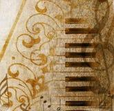 Fond musical grunge Photographie stock libre de droits