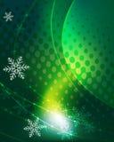 Fond mystérieux de l'hiver Image stock