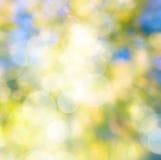 Fond naturel d'automne d'art abstrait Image libre de droits