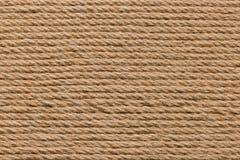 Fond naturel de corde, lignes de fond de corde Photographie stock libre de droits