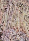 Fond naturel de formations de roche de tour de diables images stock