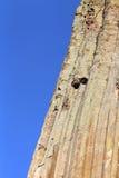Fond naturel de formations de roche de tour de diables photo stock