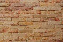 Fond naturel de mur de briques de grès photographie stock libre de droits