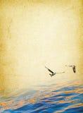 Fond nautique Image libre de droits
