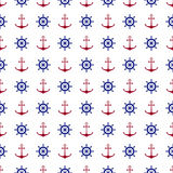Fond nautique sans couture illustration libre de droits
